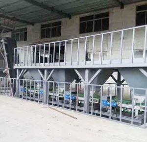 Mixing fertilizer equipment